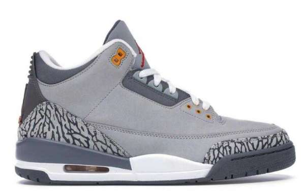 Best Selling CT8532-012 Air Jordan 3 LS Cool Grey is Available Now