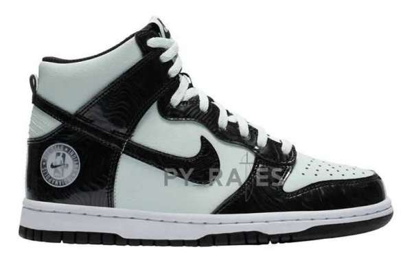 """Nike Dunk High SE """"All-Star 2021"""" Barely Green/Black Release Information"""