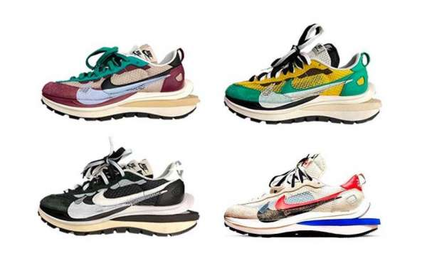 Latest sacai x Nike VaporWaffle Sneakers will be released on November 6th 2020