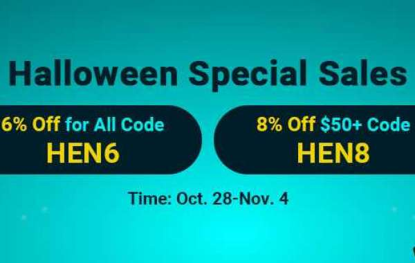 Up to 8% off cheap gold wow classic on WOWclassicgp as Halloween Special Sales