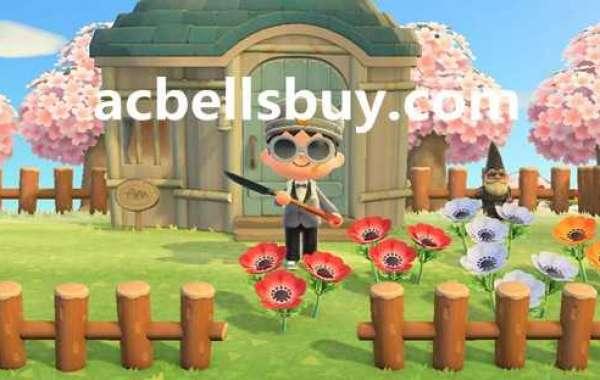 Animal Crossing: New Horizons winter decoration DIY