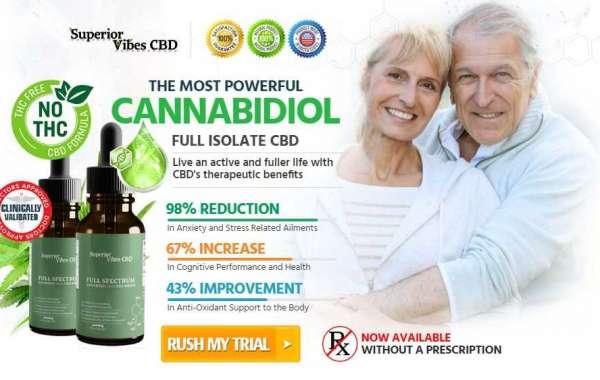 Superior Vibes CBD:{USA} Benefits || 100% Superior Vibes CBD || CBD Oil Delivers!