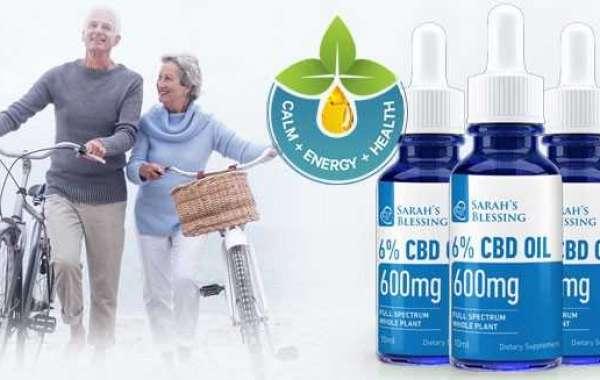Sarah's Blessing CBD Oil Full Spectrum whole plant