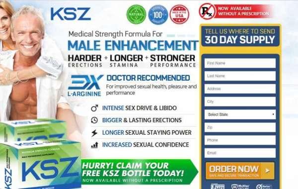 KSZ Male Enhancement - Get Maximum Strength Price, Buy & Reviews in USA