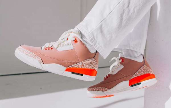 """CK9246-600 Air Jordan 3 """"Rust Pink"""" is about to arrive"""