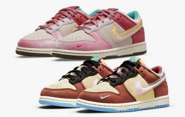Two Pairs Of Social Status x Nike Dunk Low To Buy In Saleretrojordan.com