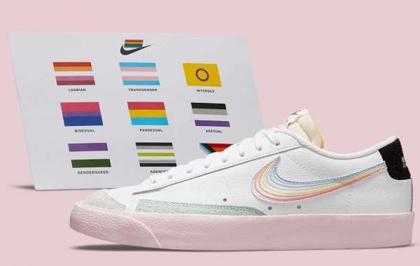 """DD3034-100 Nike Blazer Low '77 """"Be True"""" will be released before the end of June"""
