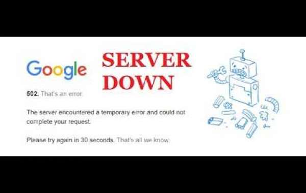 Get the solution if Google servers down